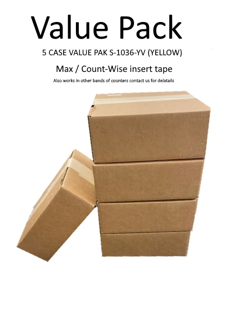 VALUE PACK CW/MAX TAPE